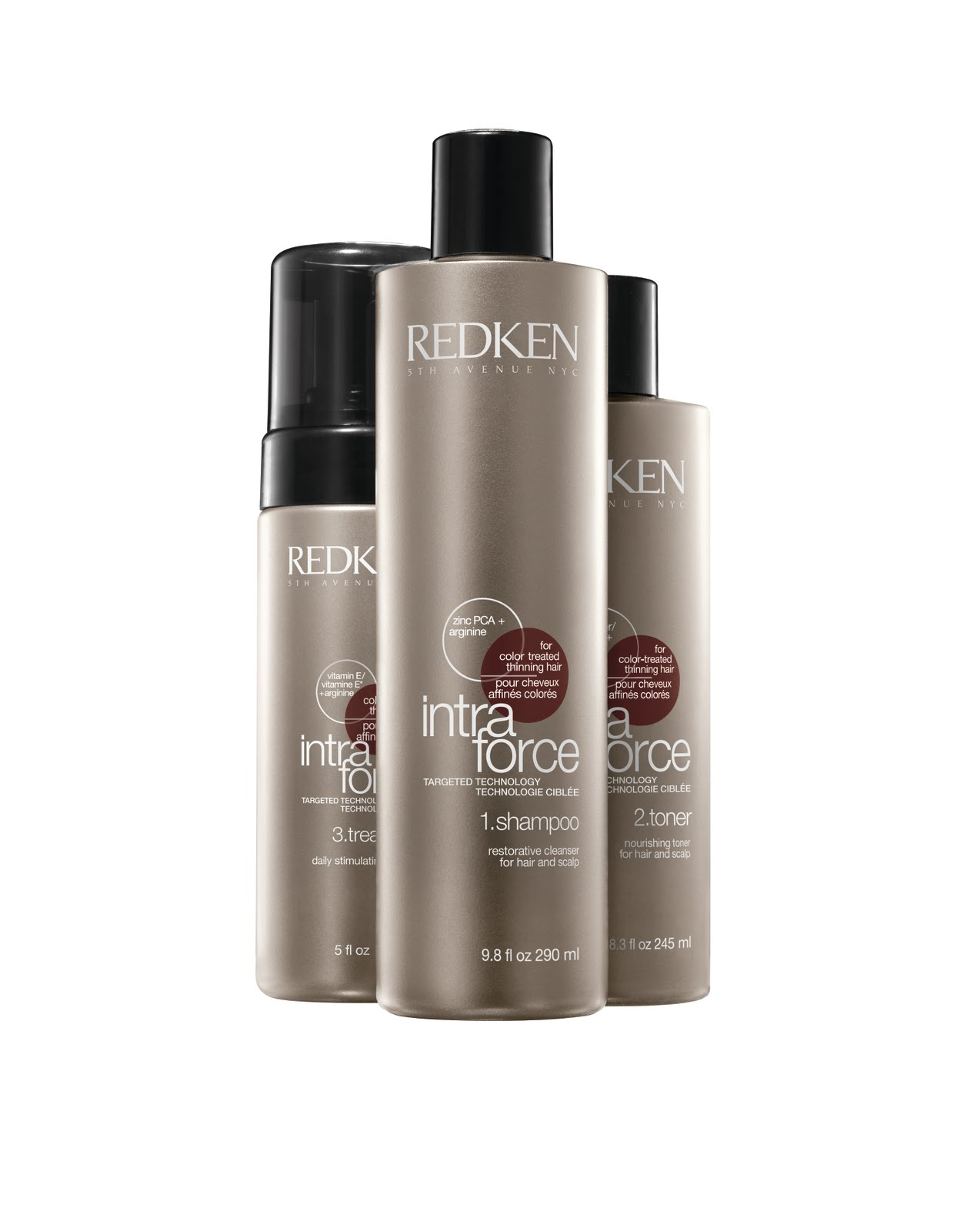 Thicker Fuller Hair In 30 Days New Redken Intra Force For All