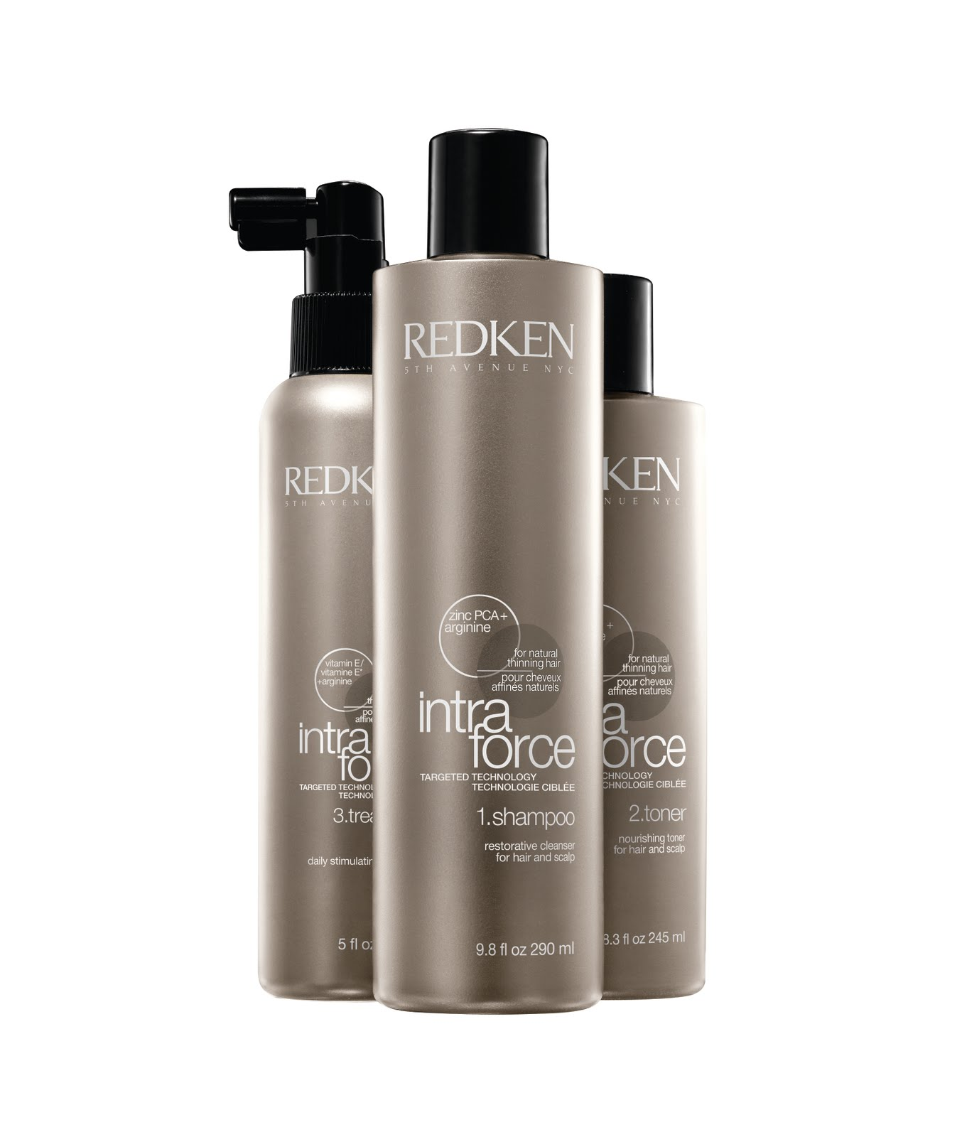 thicker, fuller hair in 30 days! new redken intra force for all